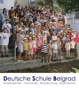 Kindergarten - Vorschule - Grundschule - Gymnasium