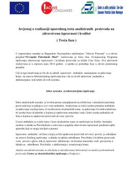Treća faza - Centar za zaštitu potrošača Crne Gore