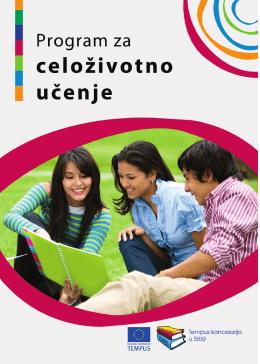 Brošura - Program za celoživotno učenje