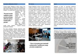 """""""Povezati romske medijatore putem priznate profesije, definisati"""