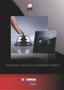 Savremeni sistemi za upravljanje hotelima - brošura