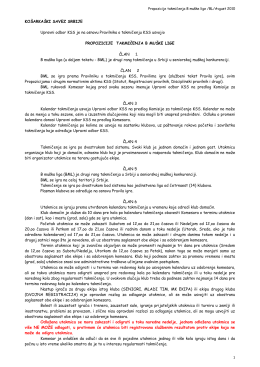 Propozicije B ML