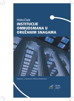 InstItucIje ombudsmana u oružanim snagama - Ombuds