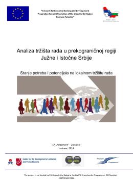 analiza tržište rada u prekogranične regiji južne i istočne