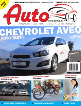 Auto časopis: februar 2012
