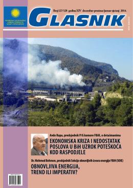 EKONOMSKA KRIZA I NEDOSTATAK POSLOVA U BiH UZROK
