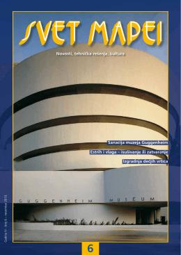 Novosti, tehnička rešenja, kultura Sanacija muzeja