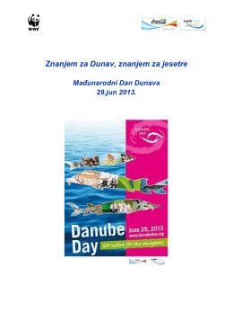 """Информације за квиз """"Знањем за Дунав – знањем за јесетре"""""""