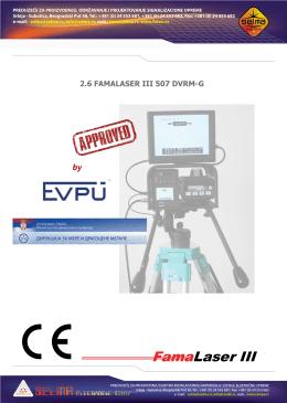 FamaLaser III DVRM-G