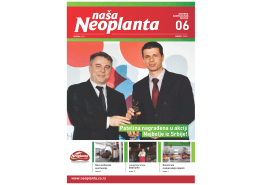 Naša Neoplanta 06, April 2012