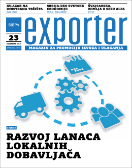 Exporter 23 - Decembar 2014