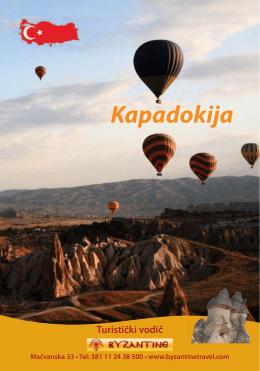 Kapadokija - Byzantin Travel