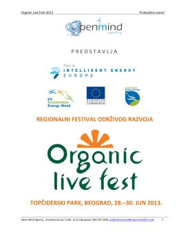 Organic Live Fest 2013