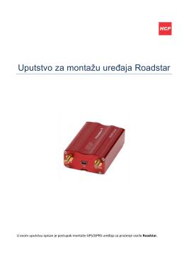 Montaža uređaja Roadstar