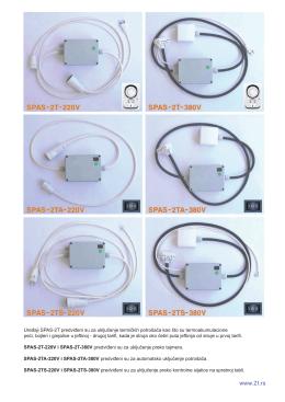 Komplet - SPAS-2T uređaji za automatsko uključivanje termičkih
