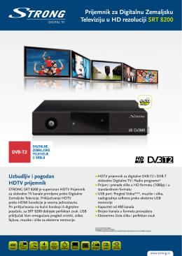 Prijemnik za Digitalnu Zemaljsku Televiziju u HD