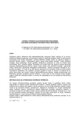 r-3.14 godišnji troškovi elektrodistributivne mreže