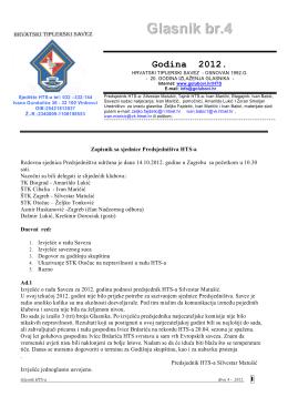 Glasnik br.4-2012