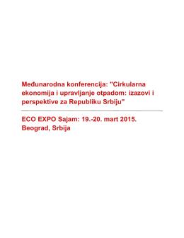 Medjunarodna konferencija