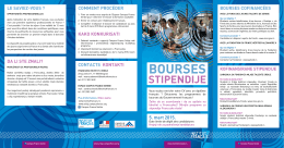 BOUrSES - Campus France