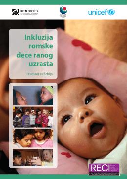 Inkluzija romske dece ranog uzrasta