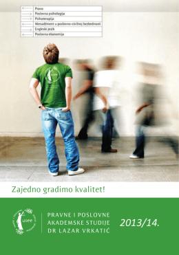 Upis 2013. - Fakultet za pravne i poslovne studije