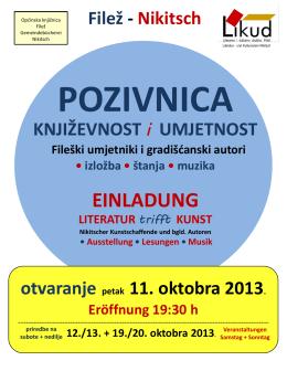 Samstag - Gemeindebücherei Nikitsch
