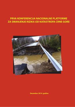 Zbornik - Nacionalna platforma za smanjenje rizika od katastrofa