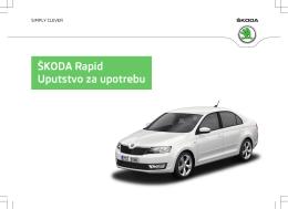 ŠKODA Rapid Uputstvo za upotrebu - Media Portal