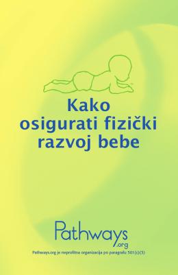 Kako osigurati fizički razvoj bebe