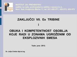 202 - Julije Cinkler - Zaključci VII Ex