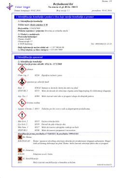 opasnost po zdravlje ljudi - DR