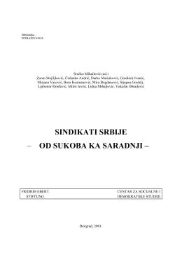 sindikati srbije – od sukoba ka saradnji