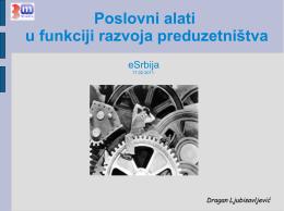 Poslovni alati - Dragan Ljubisavljević