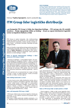 itm group lider logističke distribucije