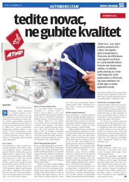 Novo vrijeme 55.PDF - Atiker Europe Atiker Europe