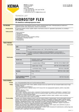 HIDROSTOP FLEX
