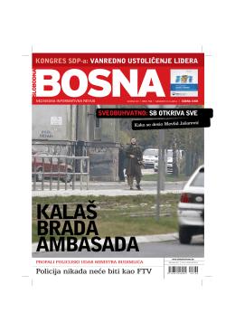 Policija nikada ne}e biti kao FTV - Udruzenje Bosna i Hercegovina