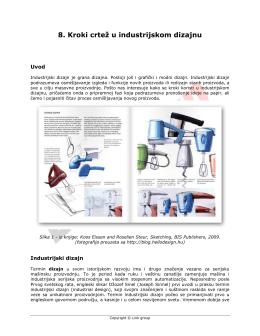 8. Kroki crtež u industrijskom dizajnu