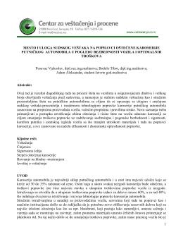 Mesto i uloga sudskog veštaka na popravci oštećene karoserije
