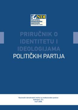 Prirucnik o politickim partijama