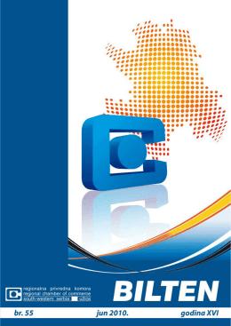 Broj 55 - Jun 2010 - regionalna privredna komora uzice