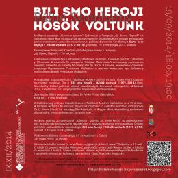 """Модерна галерија """"Ликовни сусрет"""" Суботица и"""