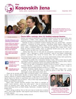 Kosovskih žena - Kosova Women`s Network
