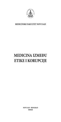 Korupcija u zdravstvu v7.indd