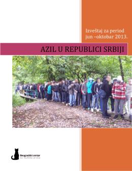 AZIL U REPUBLICI SRBIJI - Beogradski centar za ljudska prava