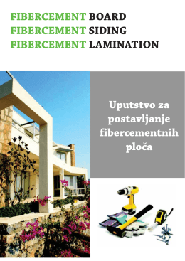 fibercement ploče