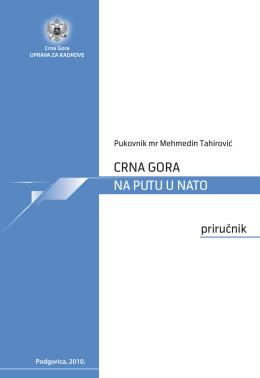 CRNA GORA NA PUTU U NATO - Uprava za Kadrove Crne Gore
