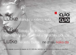 IP Clio, Gospodar Jovanova 44, Beograd, tel. 011 3035 696, 2626