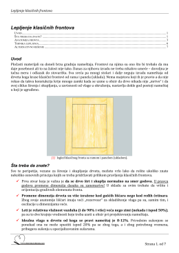 PDF verzija članka. - Stolarska radionica